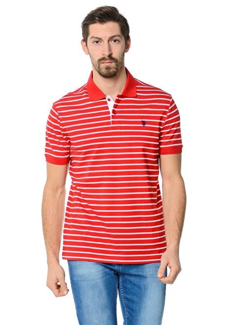 U.S.Polo Assn. Polo Yaka Tişört Kırmızı